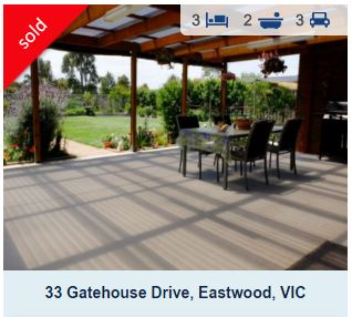 Recently sold homes Eastwood Vic