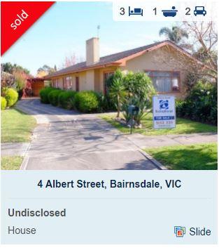Real estate appraisal Bairnsdale VIC 3875