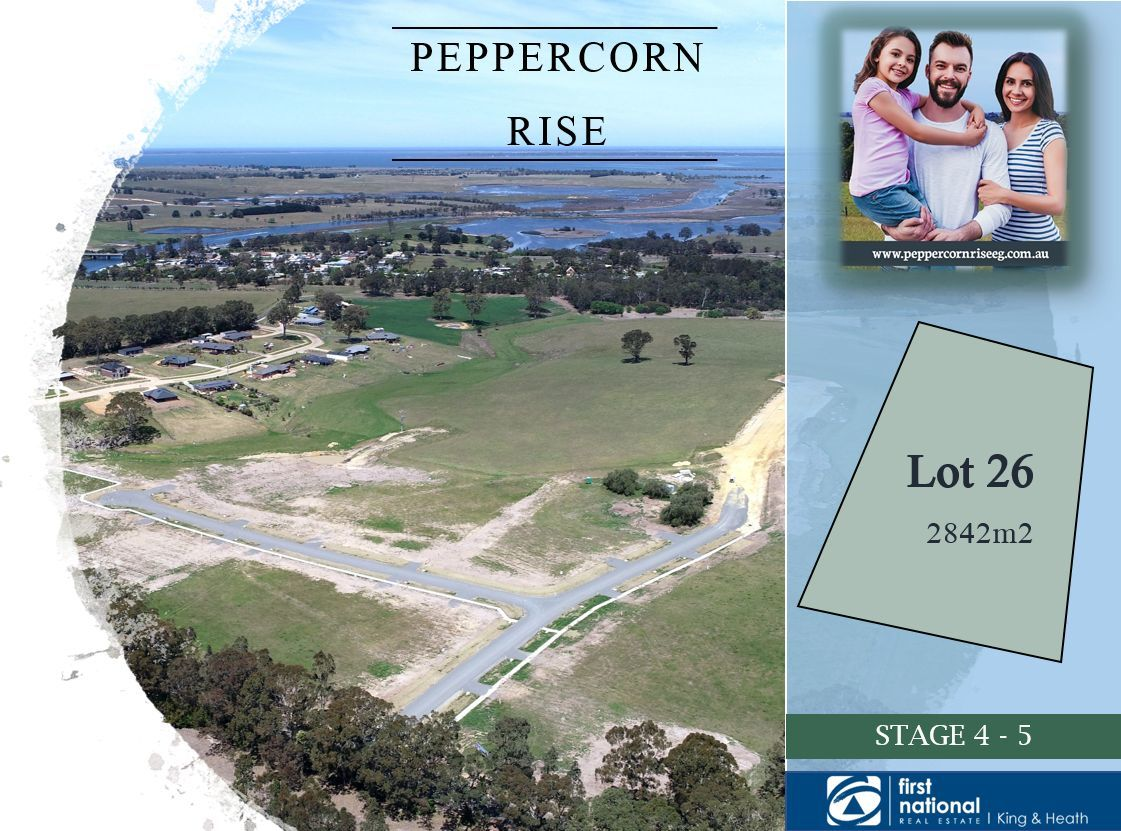 Lot 26 Peppercorn Way, Nicholson VIC 3882-1