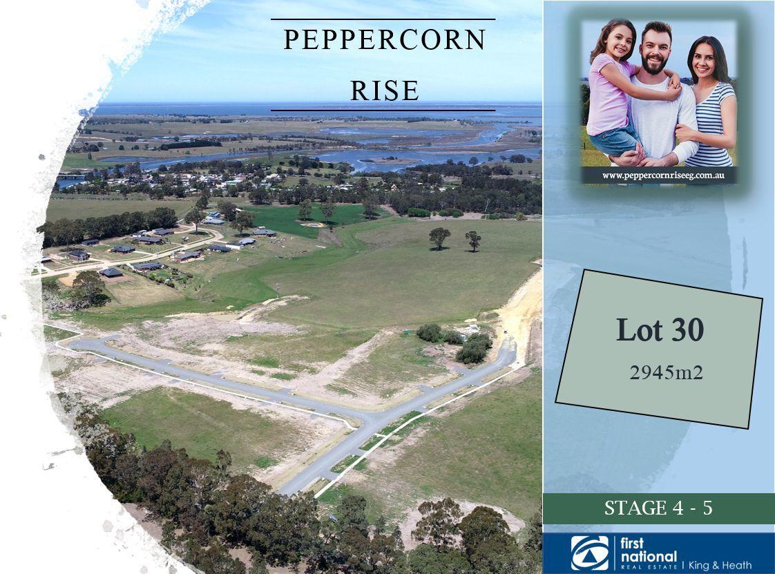 Lot 30, 14 Peppercorn Way, Nicholson VIC 3882-1