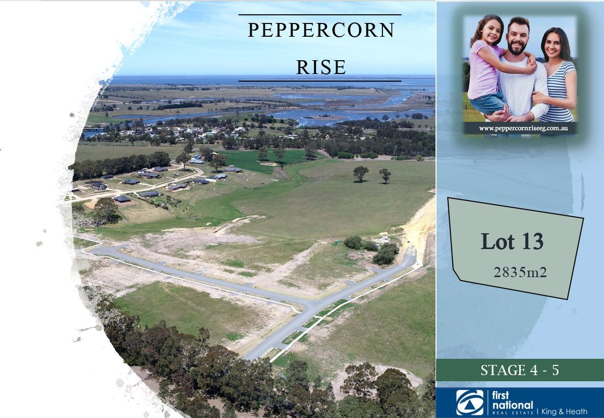 Lot 13 Peppercorn Way, Nicholson VIC 3882-1
