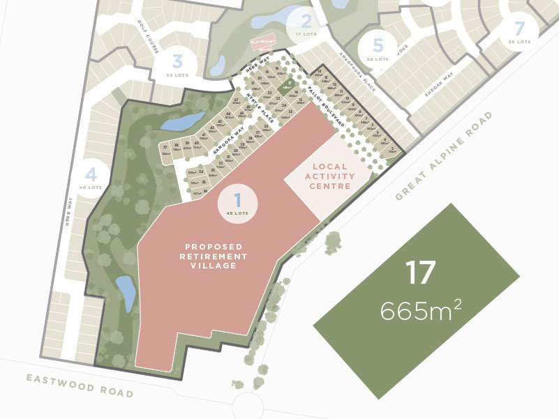 Lot 17,135 Great Alpine Road, Lucknow VIC 3875-1