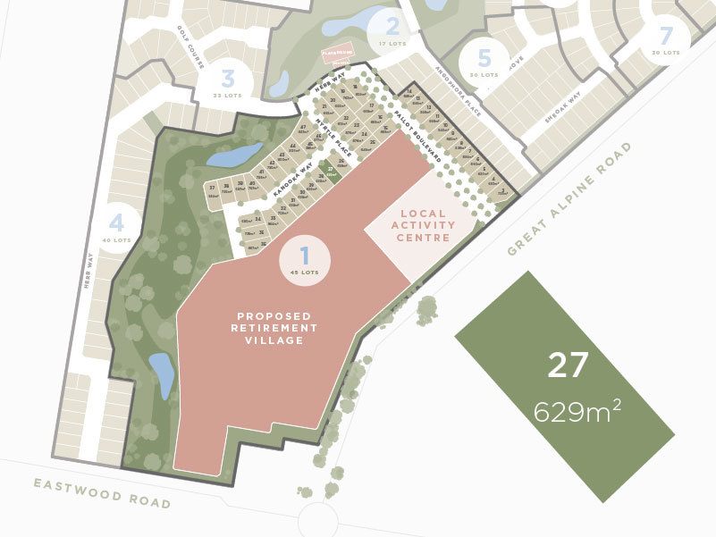 Lot 27,13 Great Alpine Road, Lucknow VIC 3875-1