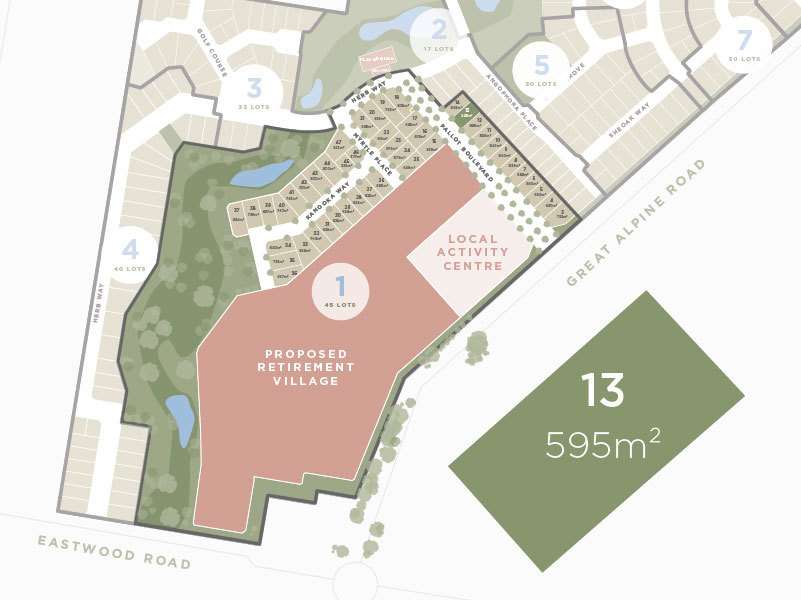 Lot 13, 13 Great Alpine Road, Lucknow VIC 3875-1