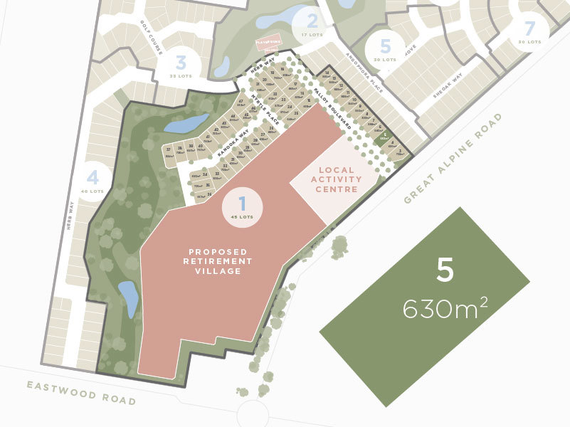 Lot 5, 135 Great Alpine Road, Lucknow VIC 3875-1