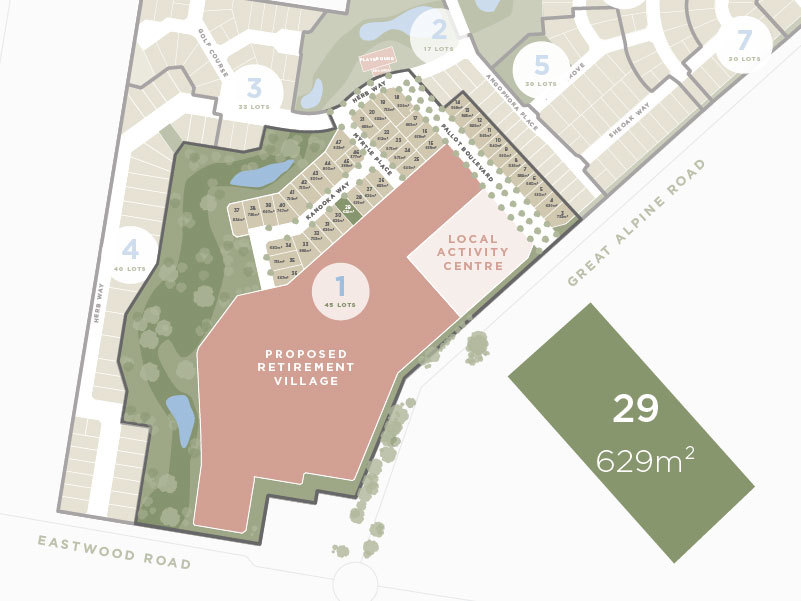 Lot 29, 13 Great Alpine Road, Lucknow VIC 3875-1