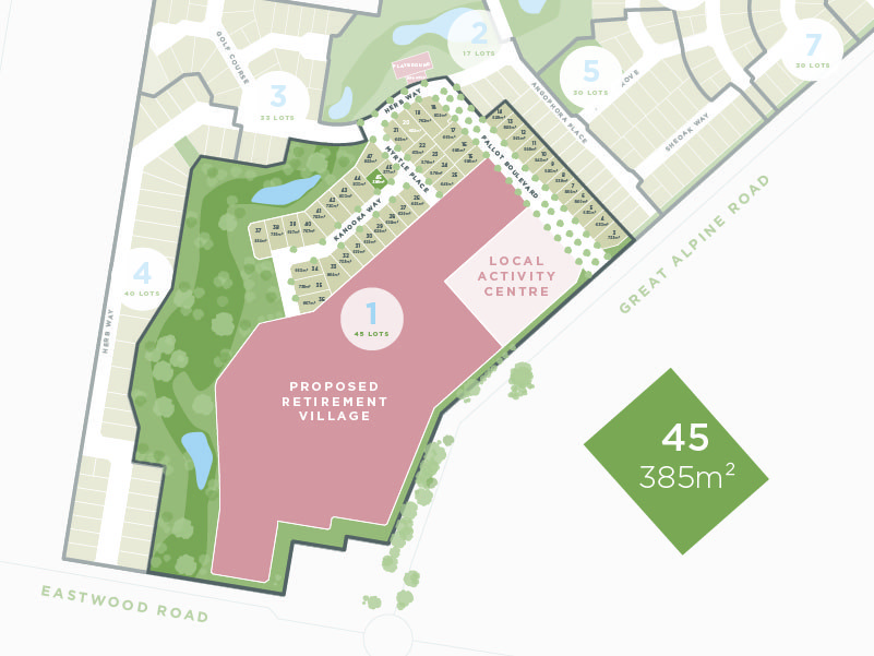 Lot 45, 13 Great Alpine Road, Lucknow VIC 3875-1