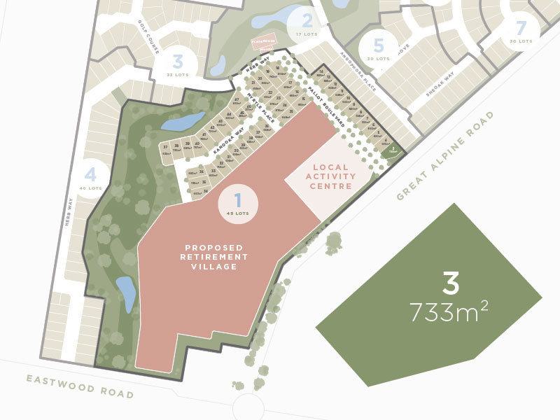 Lot 3, 135 Great Alpine Road, Lucknow VIC 3875-1