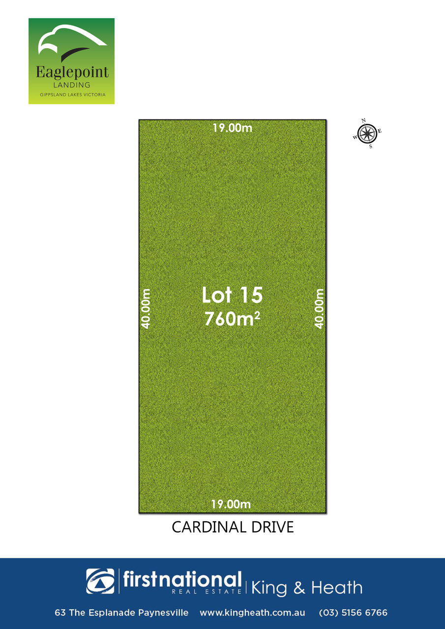 Lot 15, 23 Cardinal Drive, Eagle Point VIC 3878-1