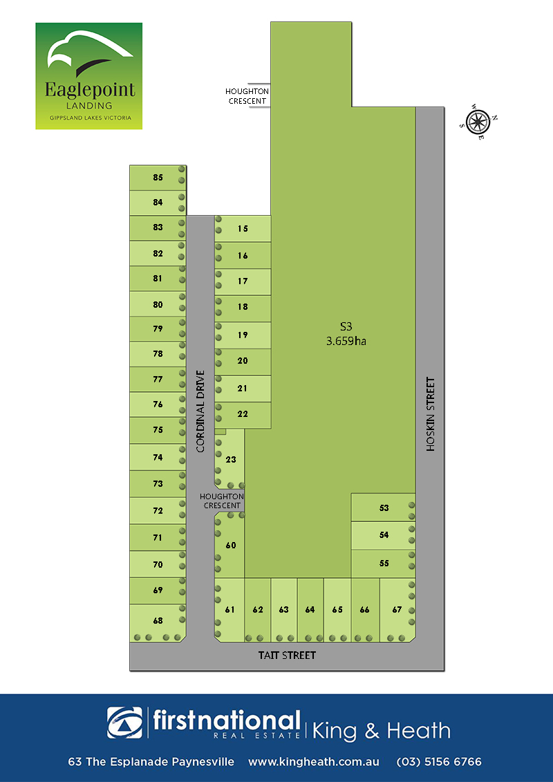 Lot 63, 28 Tait Street, Eagle Point VIC 3878-1