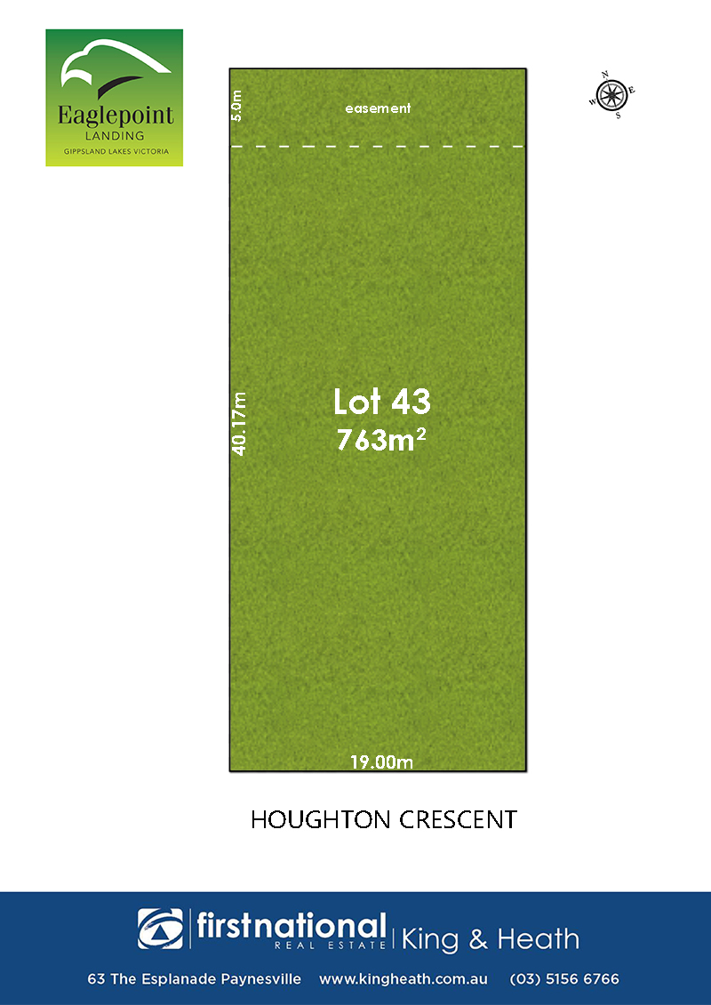 Lot 43 Houghton Crescent, Eagle Point VIC 3878-1