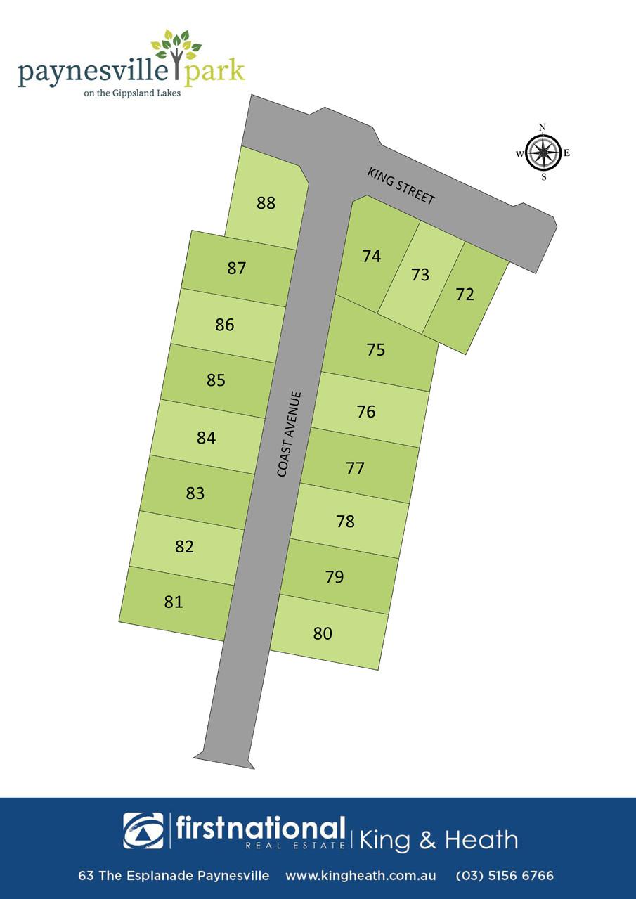 Lot 74 King Street, Paynesville VIC 3880-1