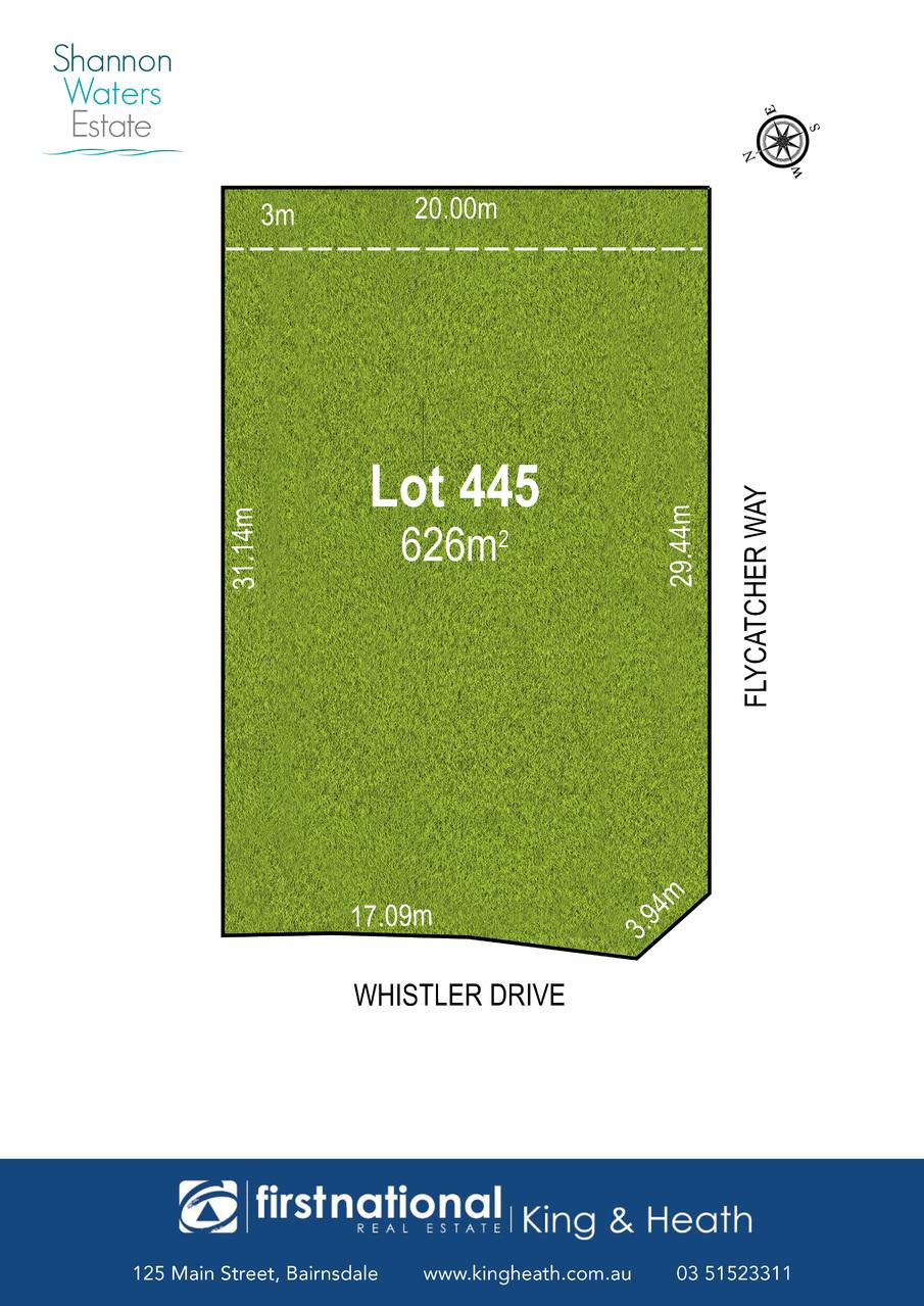 Lot 445 Whistler Drive, Bairnsdale VIC 3875-1