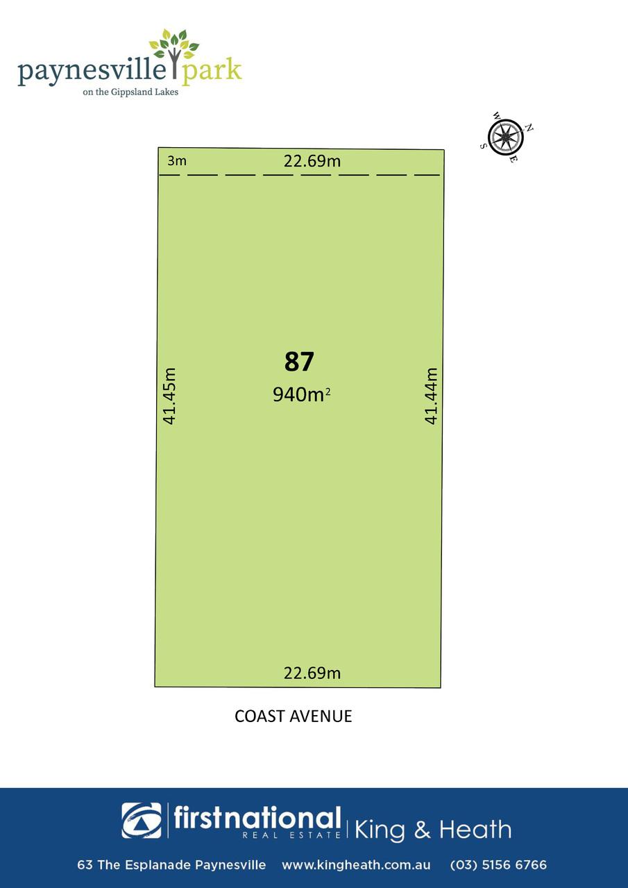 Lot 87 Coast Avenue, Paynesville VIC 3880-1