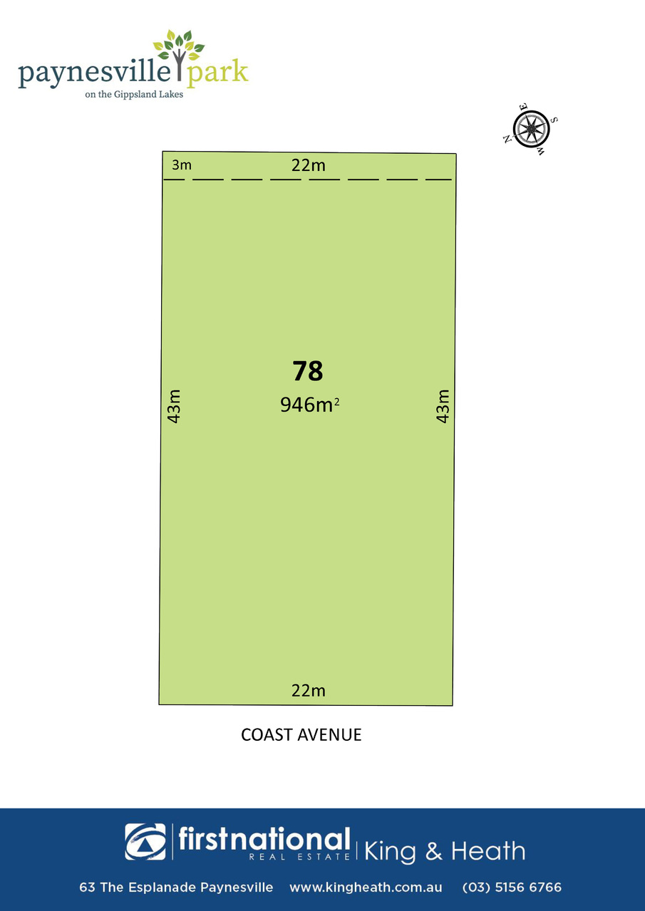 Lot 78 Coast Avenue, Paynesville VIC 3880-1