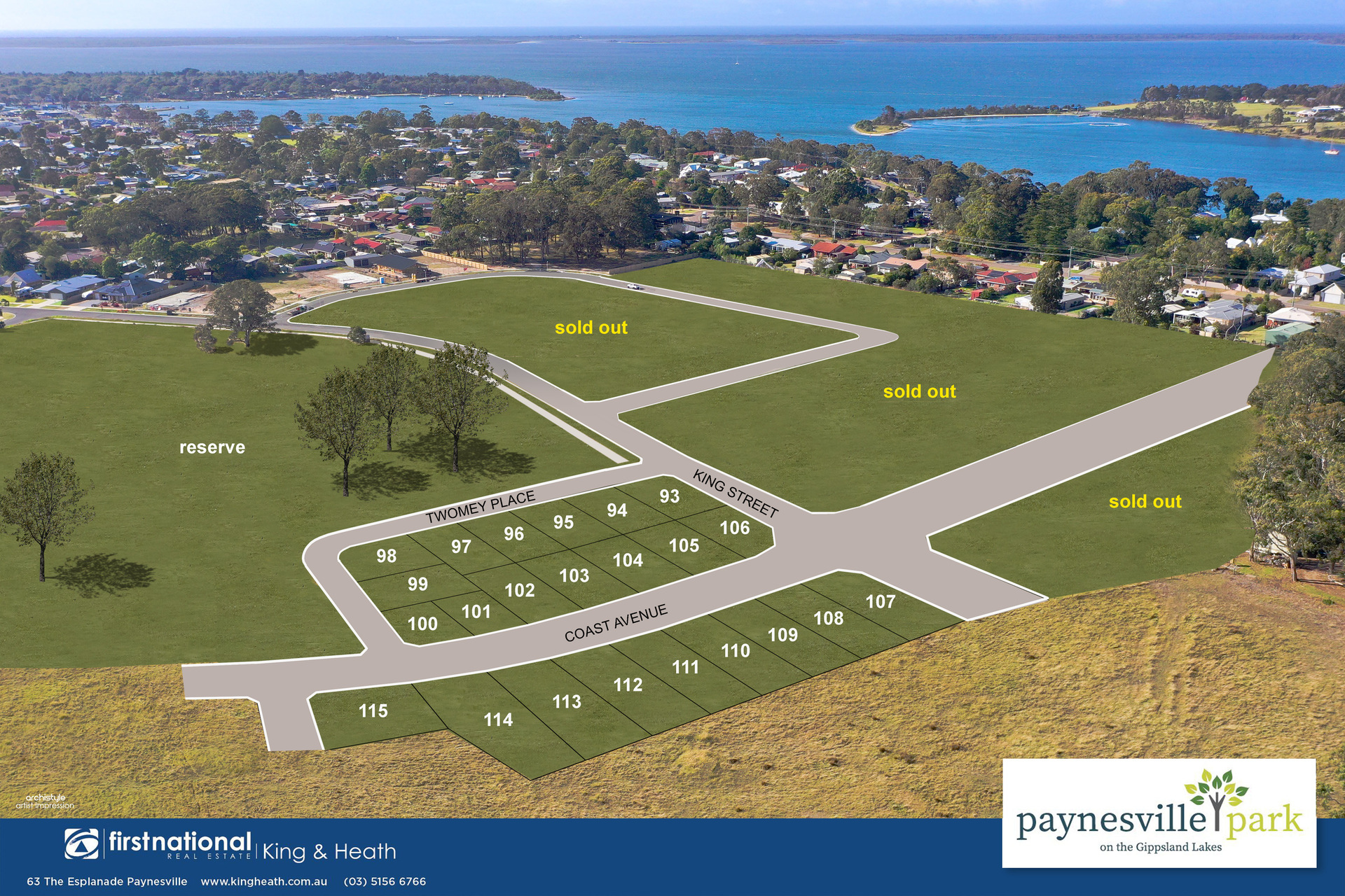 Lot 97 Twomey Place, Paynesville VIC 3880-1