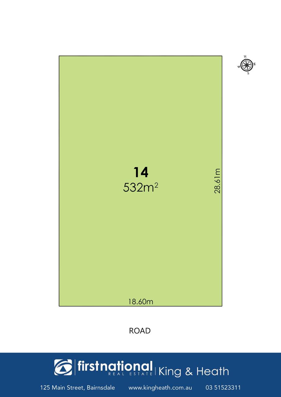Lt 14 Nielsen Way, 103 Crooke Street, East Bairnsdale VIC 3875-1