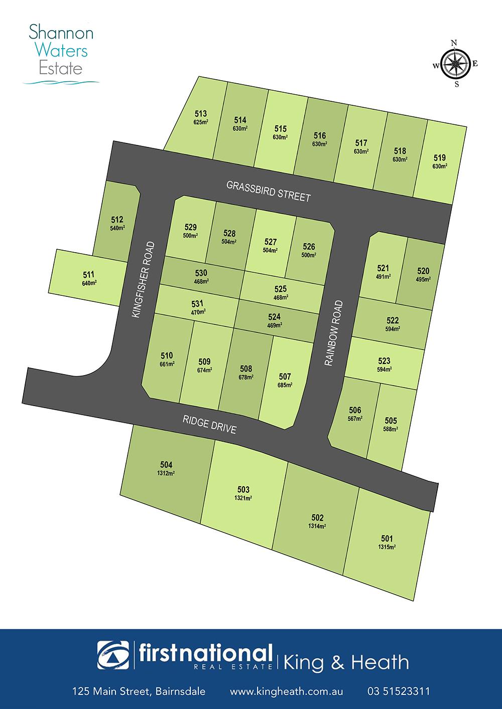 Lot 501 Ridge Drive, Bairnsdale VIC 3875-1